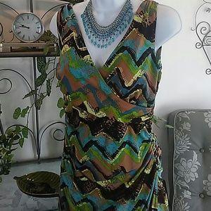 Bodycon Aztec Dress by Iman ( Price firm)